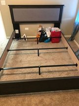 Queen size Bed Frame in Glendale Heights, Illinois