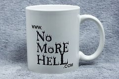 eye-catching no more hell.com mug in Kingwood, Texas