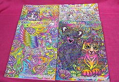 color me lisa frank adult coloring books complete set of 4 in Houston, Texas