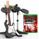 LIKE NEW XBOX ONE  ROCKBAND 4 BUNDLE in Glendale Heights, Illinois