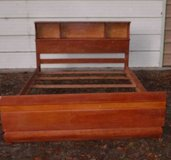 """Solid Wood Full size  Bed $85  """"The Back Forty"""", Adel in Moody AFB, Georgia"""
