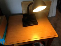 Black organizer college office desk lamp in Beale AFB, California
