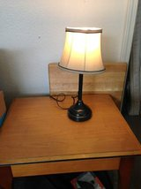 Small Table Lamp a stand up lamp and string lighting need to light up a dark room? in Travis AFB, California