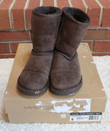 UGG Australia Women's Chocolate Brown Suede Short Boots, 5825, Size 5 in Wheaton, Illinois