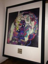 Framed Gustav Klimt The Virgins - Fine Art Print in Beale AFB, California