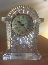 Waterford Crystal Lismore Carriage Clock in Vista, California