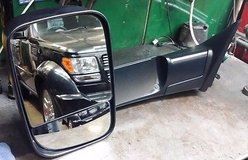 2013 to 2017  Dodge Ram 2500 drivers side trailer power mirror w/turn/heated in Yorkville, Illinois