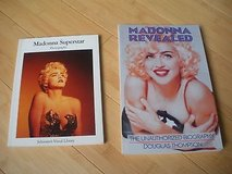 2 madonna books: revealed 1991 unauthorized biography, madonna superstar mint in Lockport, Illinois