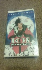 Disney 101 Dalmations VHS Tape in Perry, Georgia
