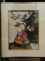 Madone aux Trois Anges litho by Graciela Rodo Boulanger in Vista, California
