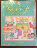Vintage 1988 The Nursery Treasury: A Collection of Rhymes, Poems, Lullabies & Games Hard Cover Book in Chicago, Illinois