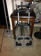 Folding Luggage Cart Suitcase Carrier Rolling Wheeled Compact in Roseville, California