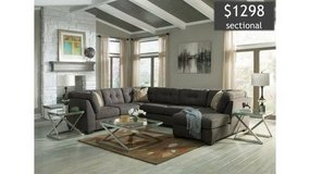 ** BRAND NEW ** ASHLEY GREY GRAY 3 PIECE SECTIONAL ** RETAILS $1699 in Nashville, Tennessee