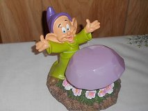 DISNEY GARDEN GNOME (DOPEY) SOLAR POWERED figurine statue! in Bellaire, Texas