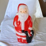 Santa Claus plastic Blow mold 1968 in Wright-Patterson AFB, Ohio