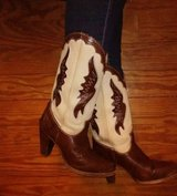 Zodiac Leather Cowgirl Boots 7M in Wright-Patterson AFB, Ohio