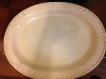 "Signature SORRENTO-IVORY 14 1/8"" Oval Serving Platter in Travis AFB, California"