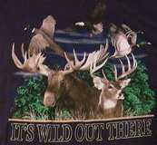 lifestyle classics xl it's wild out there t-shirt outdoors in Elgin, Illinois