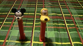 lot 2 pez dispensers disney mickey mouse pluto in Glendale Heights, Illinois