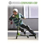 New! Yvolution Y Fliker Carver C3 - Green Ride On Drift Scooter 7yrs+ in Joliet, Illinois