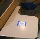 YOUNG ADULT SCHOOL DESK WITH ATTACHED CHAIR. 50+ AVAILABLE! in DeKalb, Illinois