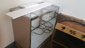 Lighted Glass Display Case 6 footer! in DeKalb, Illinois