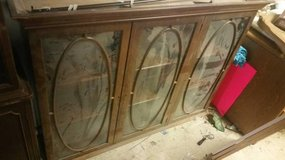 Vintage Glass Front Hutch from China Cabinet in DeKalb, Illinois