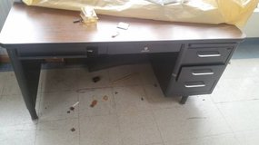 "Vintage Steelcase All Steel ""Tanker"" Desk - 4 available in DeKalb, Illinois"
