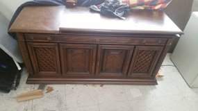 Vintage Stereo/Record Cabinet in DeKalb, Illinois