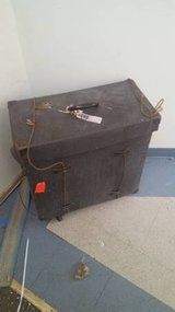 Antique Small Size Travel Trunk in DeKalb, Illinois