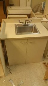 Stand Alone Hand Wash Sink Cabinet/Vanity- 10 available! in DeKalb, Illinois