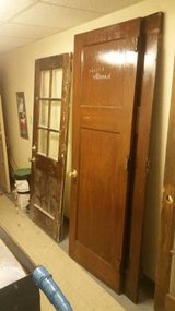 Antique Solid Wood Doors with Hardware- 3 Available! in DeKalb, Illinois