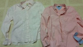 Tommy Hilfiger long sleeve pink shirt in Temecula, California