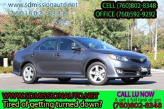 2014 Toyota Camry SE Ask for Louis (760) 802-8348 in Camp Pendleton, California