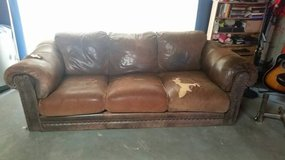 FREE Lane Leather Couch in Joliet, Illinois