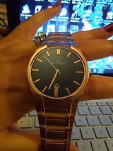 lucien piccard davos rose swiss made movement stainless steele new no box in Camp Lejeune, North Carolina