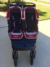 City Elite Double Baby Jogger 2009 + Carry Bag in Jacksonville, Florida