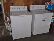 KitchenAid washer and dryer (electric) in Travis AFB, California