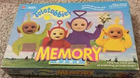 Teletubbies Memory Match Game Complete 1999 Milton Bradley Ages 2+ in Bolingbrook, Illinois