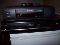 TOSHIBA RECORDABLE DVD and SAMSUNG VHS PLAYER in Glendale Heights, Illinois