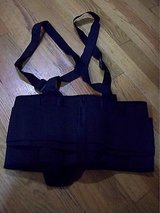 premium back brace lumbar support with shoulder straps - RETAILS NEW $30 in Lockport, Illinois