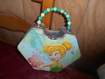 TINKERBELL Collectible Tin Purse with Beaded Handle! in Houston, Texas