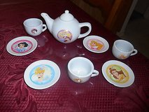 Miniature Porcelain Disney Princess Tea Set! 8pc in Bellaire, Texas