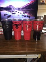 Twin Peaks 30oz Atlanta Falcon Powder Coated Tumblers in Perry, Georgia