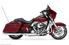 Harley Street Glide Motorcycle in Aurora, Illinois
