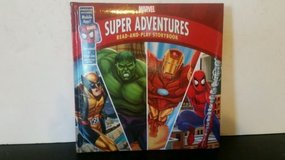 Marvel Super Adventures Read-and-Play Storybook Includes Mobile App Soft Shell Hard Cover Book in Morris, Illinois