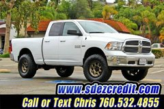 2016 Ram Ram Pickup 1500 BIG Horn White 4x4 = LIFTED = in Oceanside, California
