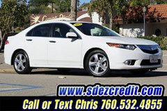 2013 Acura TSX White = LOW MILES = in Oceanside, California