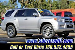 2011 Toyota 4Runner Limited Silver 4x4 in Oceanside, California