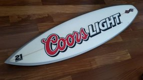 "Never Used 6'0 long X 18.25"" wide X 2.2"" thick  surfboard short board in San Ysidro, California"